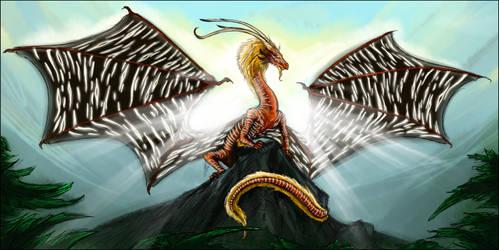 The Dragon of Akavir