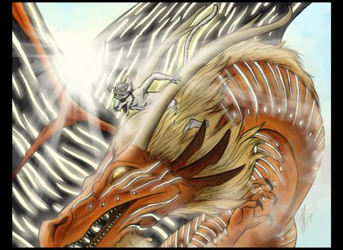 Pangur-Ban the Dragon Rider