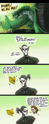 Ho noes, dragons! by ShoutFinder