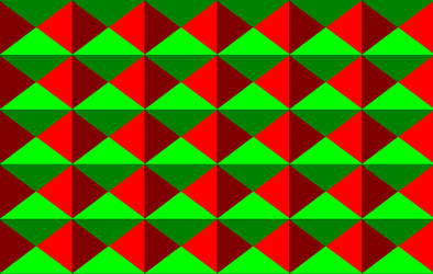red and green by eliander