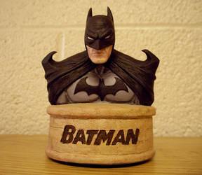 Batman Minibust by GrinningManiac