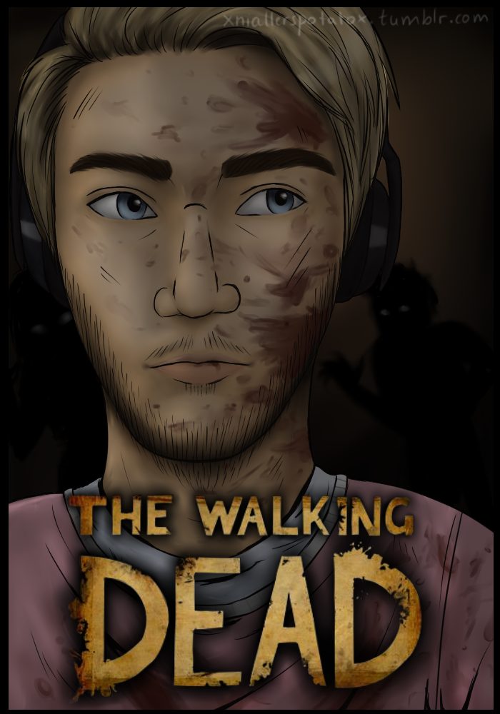 pewdiepie the walking dead season 2 by xlilacnialldoex
