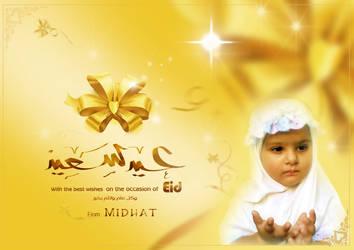 Midhat eid card by cr8v
