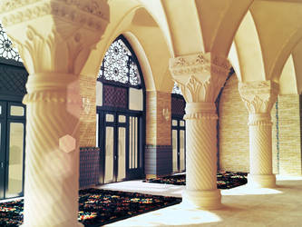 Islamic 3d architecture by cr8v