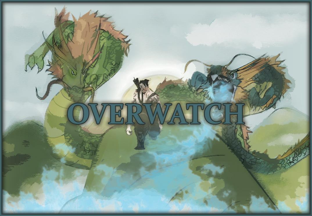 OverWatch 'Dragons' Fan Art by TGRsam