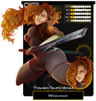 [CODE-8] : Yoshiko Smith-Jones by Zungie