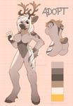 Anthro Deer Adopt (closed)