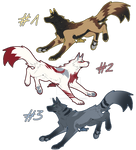 Canine Adoptables (closed)
