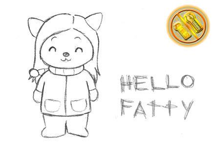 hello fatty by geofa