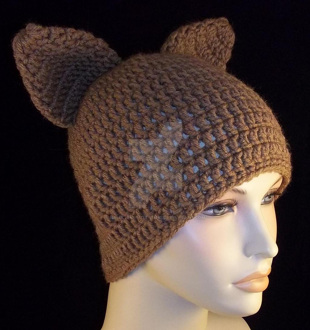 Crochet Beanie Cat Ears by ImNuckingFuttsToni on DeviantArt