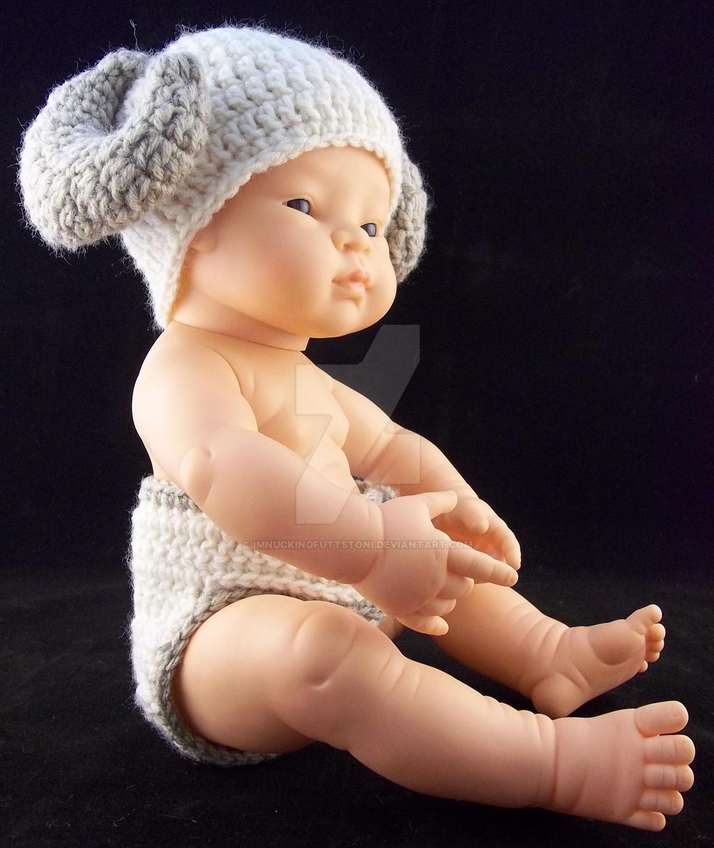 fe5e71f4f9d ... ImNuckingFuttsToni Crochet Ram Beanie Diaper Cover Baby Set by  ImNuckingFuttsToni