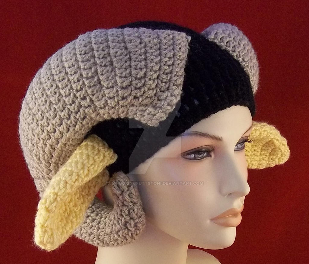 Crochet Beanie Ram Horns Long Ears Saga Marko by ...