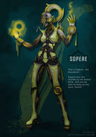 Warframe - Sopere by coolcater96