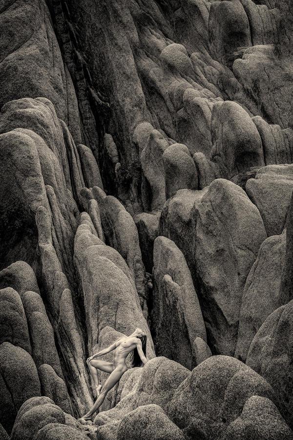 Goddess on the rocks by Danwarner
