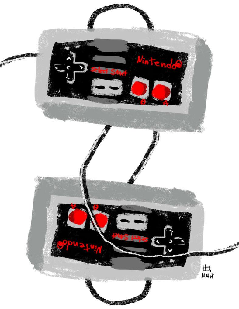 Nintendoodle Old School by pernobassist