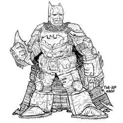 BATMAN 2 by pernobassist