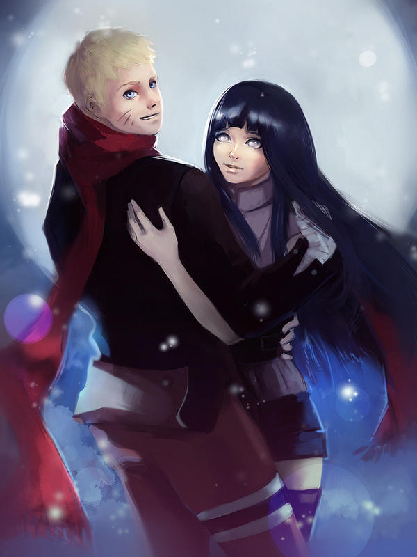NaruHina by PolliPo