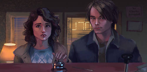 Stranger things study by PolliPo