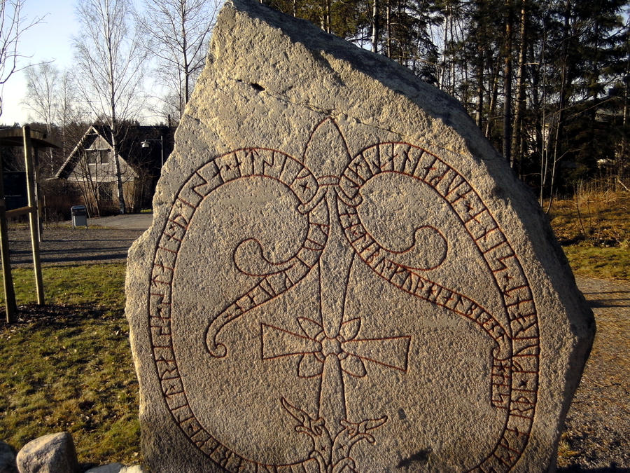 Viking stone by seabrownthree on deviantart