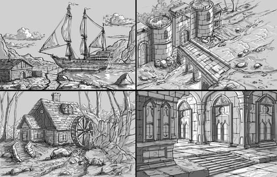Line Drawings 1