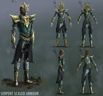 Serpent Scaled Armour