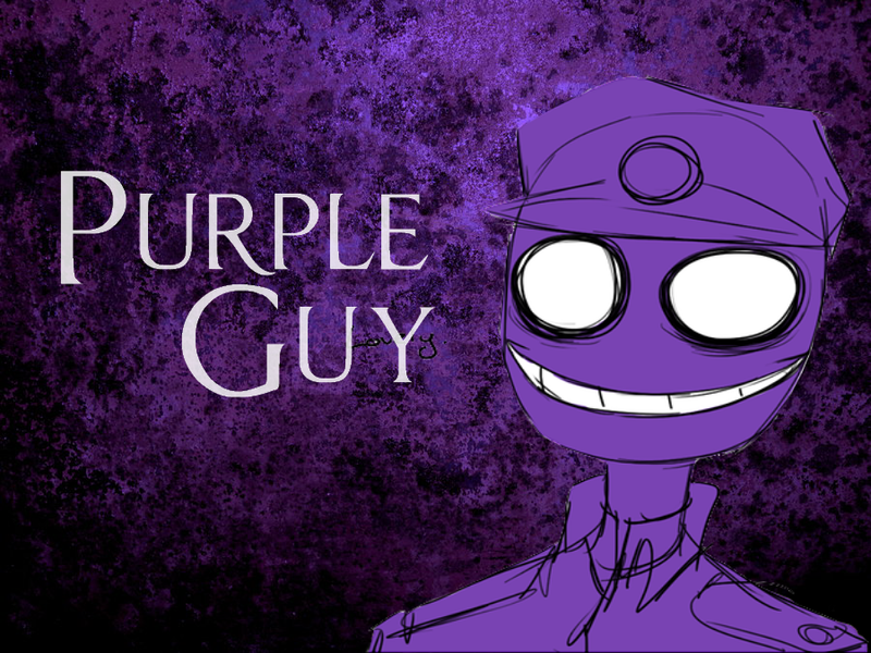 Purple guy is awesome by misschauvex3 on deviantart