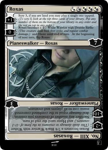 Roxas Planeswalker by sunshine-discodogma on DeviantArt Planeswalker Rules