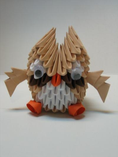 3 D Origami Owl By Pandanpandan