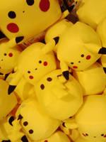 Pikachu Pile by pandanpandan