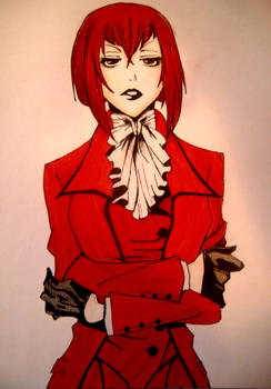 Madame Red from black butler
