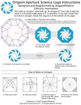 Aperture Science Origami