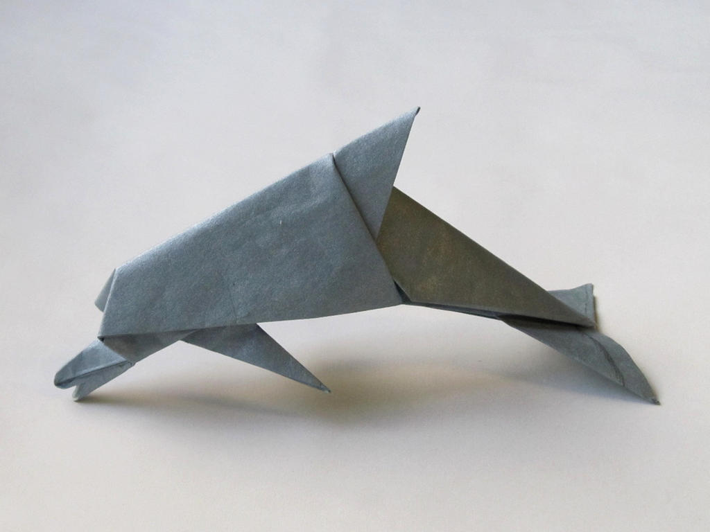dolphin david brill by origamiphoenix on deviantart