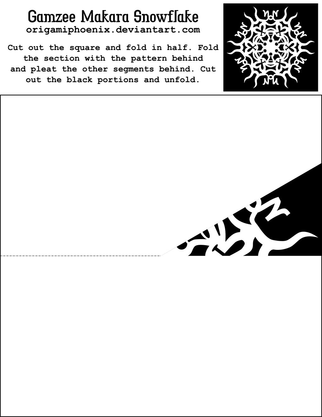 Gamzee Makara Snowflake Printout by OrigamiPhoenix on DeviantArt