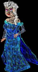 Frozen Elsa Airbrush Gradient by ESPIOARTWORK-102