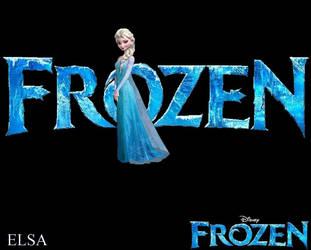 Frozen Logo Wallpapers - Elsa by ESPIOARTWORK-102