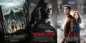 The Maze Runner - The Equalizer - The Giver - 2014