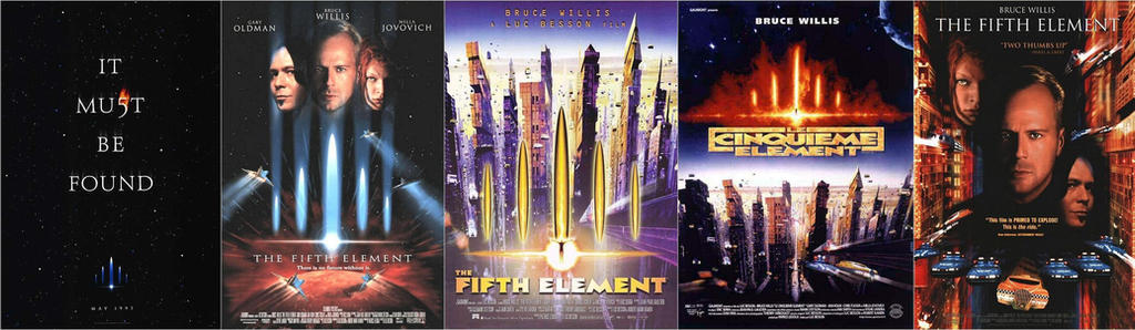 The Fifth Element 1997 Movie Posters By Espioartwork 102 On Deviantart