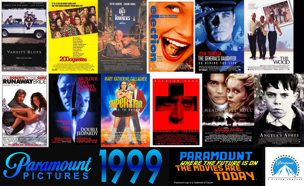Movie Posters 1999: Paramount Pictures Movies 1999 Wallpaper By ESPIOARTWORK
