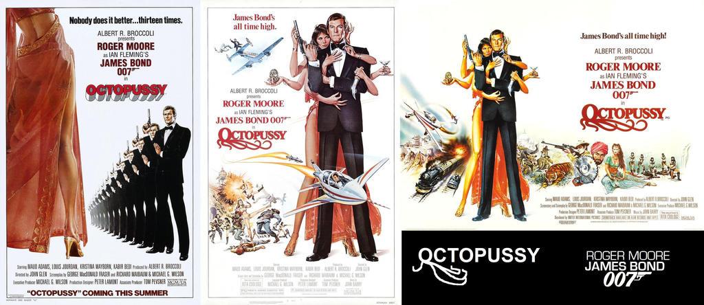 octopussy 1983 movie posters by espioartwork102 on deviantart