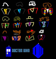 Twelve Doctors Artwork 1 by ESPIOARTWORK-102