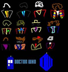 Twelve Doctors Artwork 1 by ESPIOARTWORK-102
