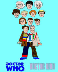 Doctor Who Heads Picture by ESPIOARTWORK-102
