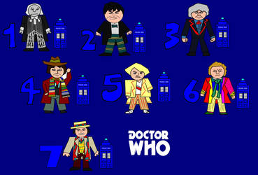 Doctor Who Cartoon Minis - Classic Era by ESPIOARTWORK-102