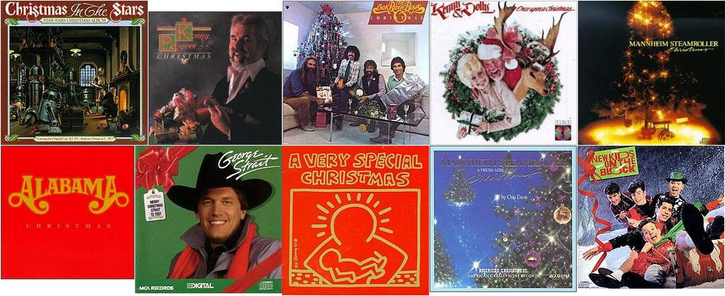 best selling christmas albums 1980s by espioartwork 102