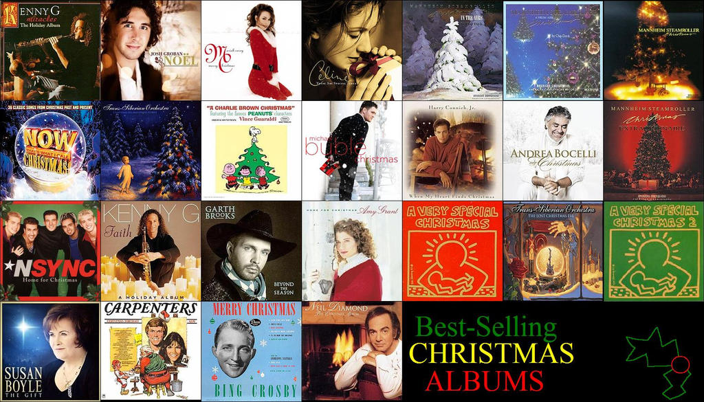 Best-selling Christmas Holiday Albums 25 by ESPIOARTWORK-102