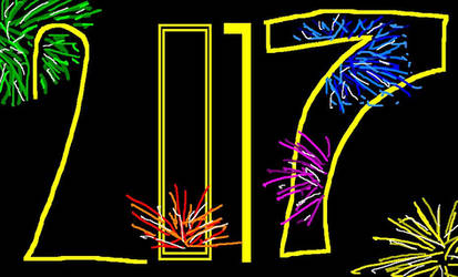 Happy New Year 2017 Logo by ESPIOARTWORK-102