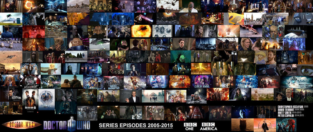 All The Doctor Who Episodes 2005-2015 by ESPIOARTWORK-102