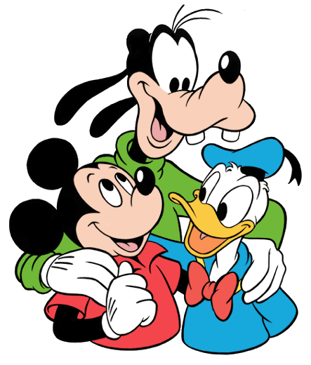 Mickey Donald And Goofy By Teh Maskmaid On DeviantArt