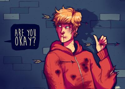 Look at me, I'm fine. by avataraandy