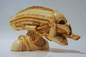 HRG Trooper Maquette, Carved Bone II